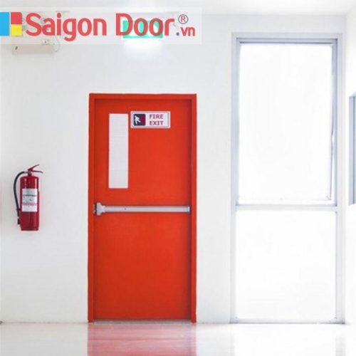 Gia Huy Door là cơ sở thi công cửa  thoát hiểm trên 10 năm.
